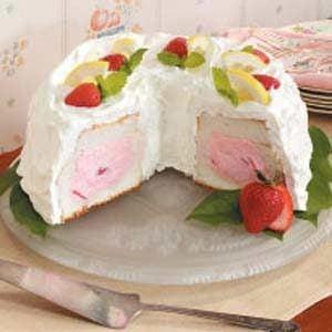 Strawberry Tunnel Cake