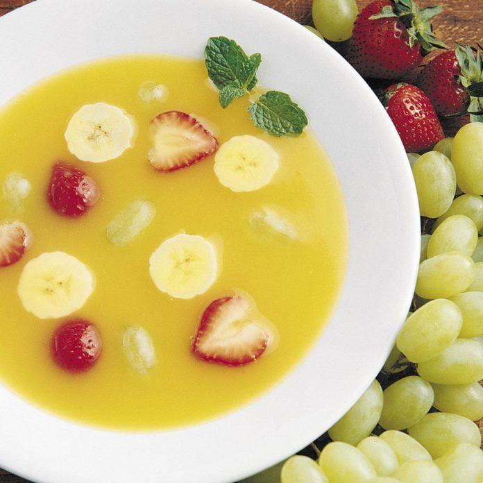 Fresh Fruit Soup