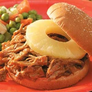 Teriyaki Pulled Pork Sandwiches