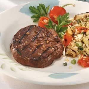 Tropical Tenderloin Steaks