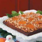 Apricot Almond Upside-Down Cake
