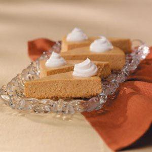 Gingersnap Pumpkin Cheesecake