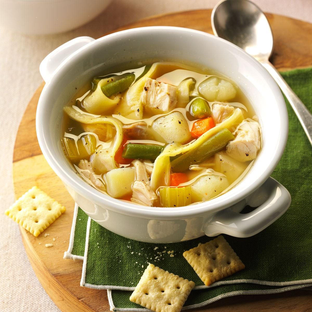mom's chicken noodle soup recipe: how to make it   taste