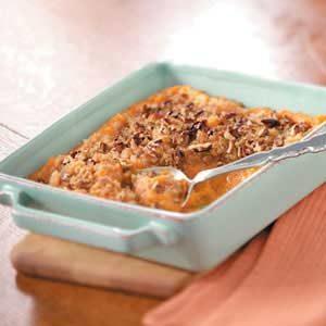 Makeover Crunchy Sweet Potato Casserole