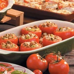Tomatoes with Herb Stuffing