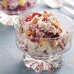 Cranberry-Nut Fruit Cups
