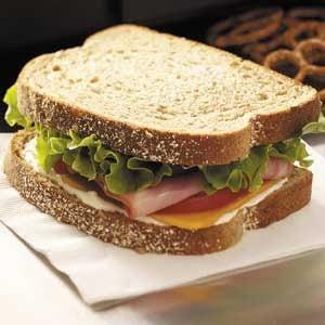 Country Ham Sandwiches