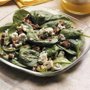 Pecan Spinach Salad