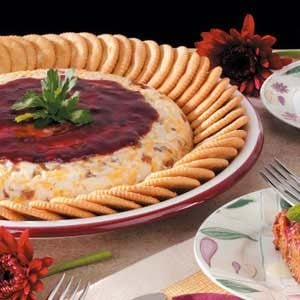 Raspberry Cheese Spread