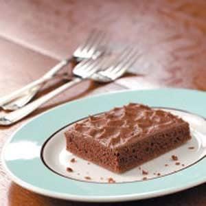 Makeover Chocolate Texas Sheet Cake