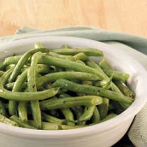 Herbed Fresh Green Beans