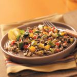 Sweet Pepper Wild Rice Salad