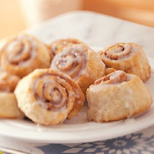 Morning Cinnamon Rolls