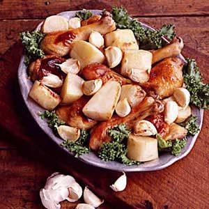 Garlic-Roasted Honey Chicken