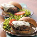 Ranch-Style Pork Burgers