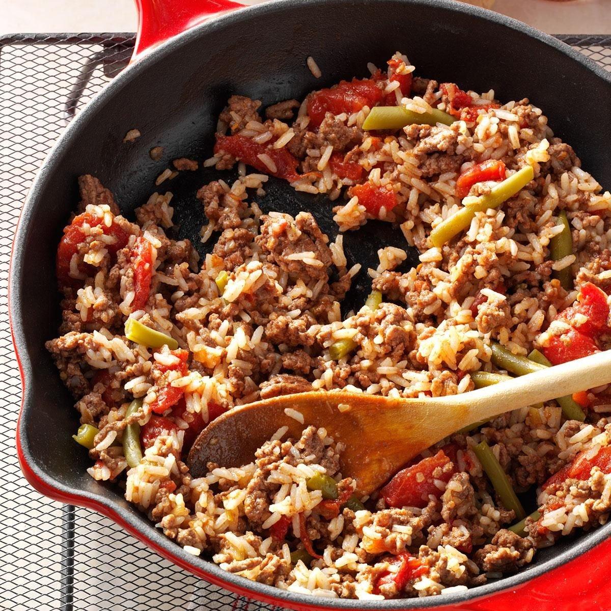 Spanish Rice Dinner