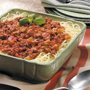 Hearty Spaghetti