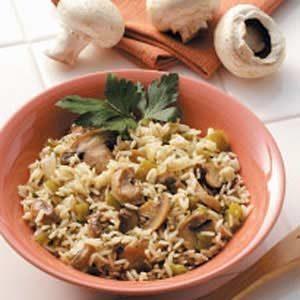 Rice with Mushrooms