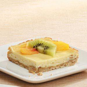 Honey Cheesecake Bars