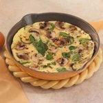 Mushroom Spinach Omelet