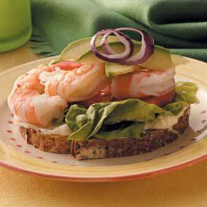 Lemony Shrimp Sandwiches