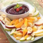 Raspberry Fondue Dip