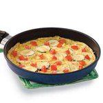 Parmesan Zucchini Omelet