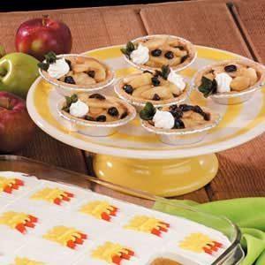 Raisin Apple Tartlets