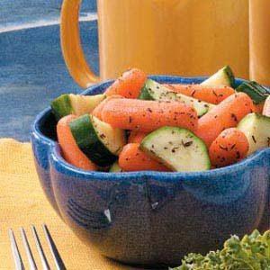 Herbed Zucchini 'n' Carrots