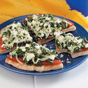 Greek Pizzas