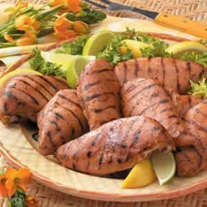 Marinated Barbecued Chicken