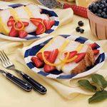 Strawberry-Lemon Angel Cake
