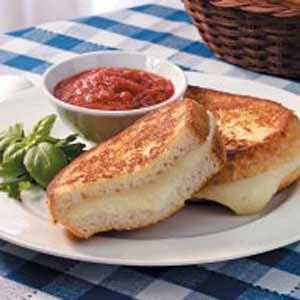Fresh Mozzarella Sandwiches
