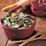 Cranberry Pecan Spinach Salad