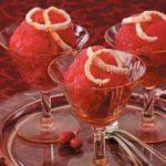 Tangerine Cranberry Sorbet