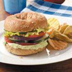 Zesty Garlic-Avocado Sandwiches