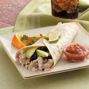 Zippy Chicken Wraps