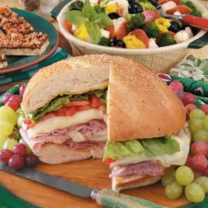 Warm Layered Sandwich