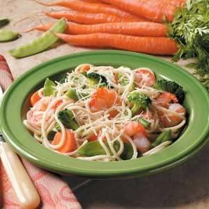 Vegetable Shrimp Toss