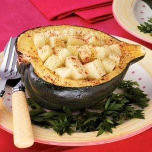 Apple-Stuffed Acorn Squash