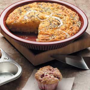 Vidalia Onion Custard Bread