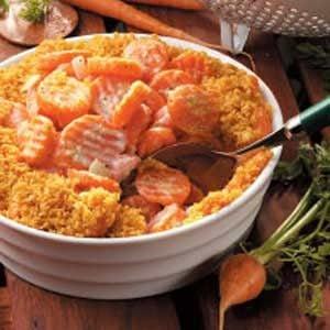 Horseradish Creamed Carrots