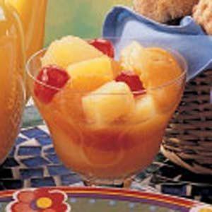 Hot Spice Fruit Compote