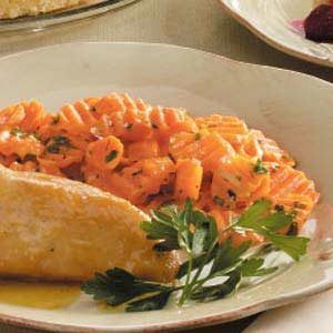 Sweet Herbed Carrots