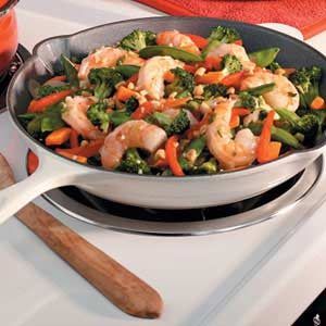 Easy Shrimp Stir Fry