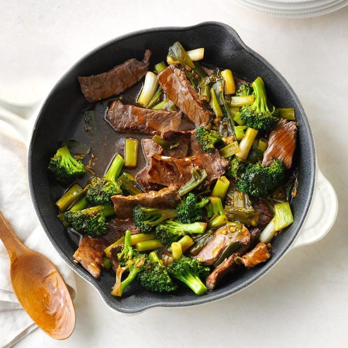 Day 27: Saucy Beef with Broccoli