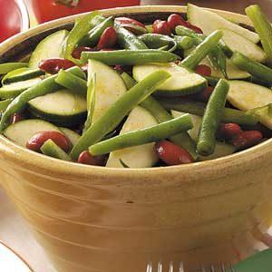 Zucchini Bean Salad