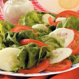 Quick Tomato Cucumber Salad