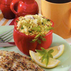 Couscous Pepper Cups