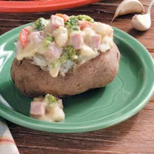Hearty Baked Potatoes